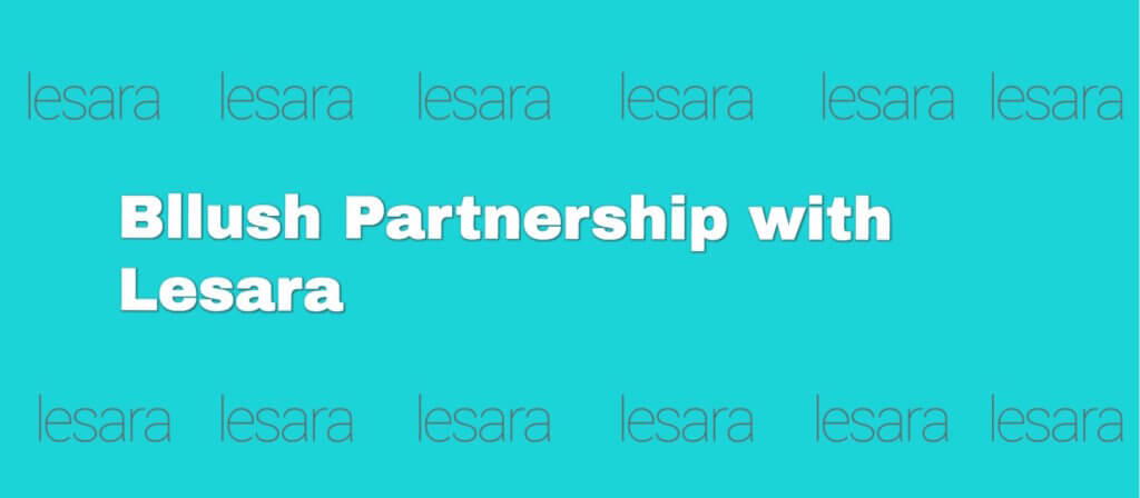 Bllush Partnership with Lesara