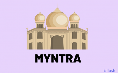 Bllush Partnership with Myntra